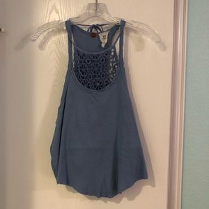 Free People Double Layer Tank